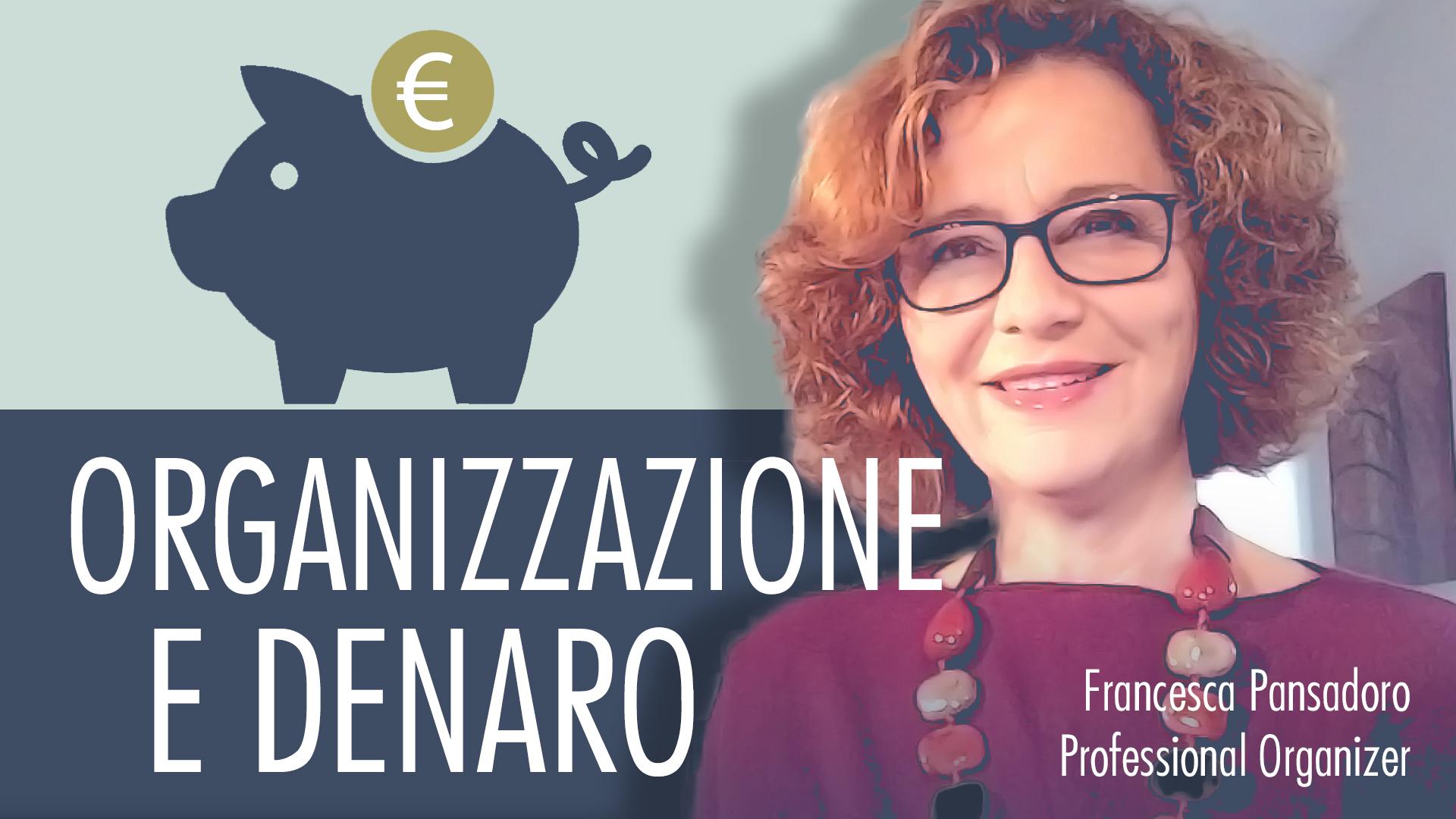 organizzazione e denaro